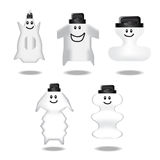 Cartoon clear bottle Royalty Free Stock Photography