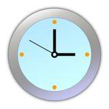 Cartoon Clock [01] Royalty Free Stock Photo