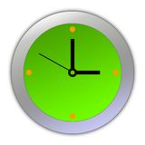 Cartoon Clock [03] Royalty Free Stock Photo