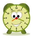 Cartoon clock stock illustration