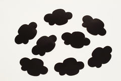 Cartoon cloud. An image of a cartoonish cloud pattern stock photos