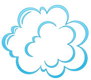 Cartoon cloud Stock Photo