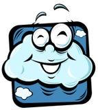 Cartoon cloud Stock Photos