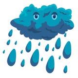 Cartoon cloud Royalty Free Stock Image