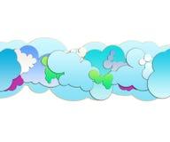 Cartoon Clouds Stock Photos