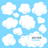 Cartoon Clouds Royalty Free Stock Images