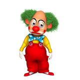 Cartoon clown Royalty Free Stock Photo