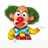 Cartoon clown Royalty Free Stock Images