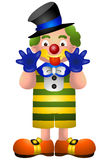 Cartoon Clown Royalty Free Stock Photos
