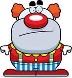 Cartoon Clown Bored Stock Photos