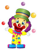 Cartoon Clown ClipArt Royalty Free Stock Images
