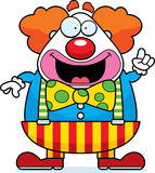 Cartoon Clown Idea Stock Images