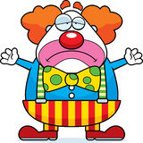 Cartoon Clown Sad Royalty Free Stock Images