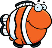 Cartoon Clownfish Smiling Royalty Free Stock Photography