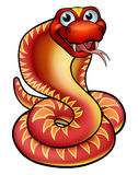 Cartoon Cobra Snake Character Stock Photography