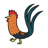 Cartoon cockerel Royalty Free Stock Photo