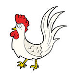 cartoon cockerel Royalty Free Stock Photos