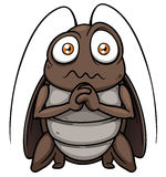 Cartoon cockroach Stock Photo