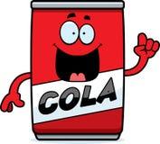 Cartoon Cola Can Idea Stock Photography
