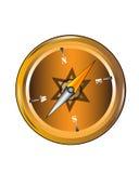 Cartoon compass Stock Photo