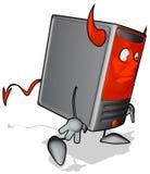 Cartoon computer Royalty Free Stock Photos