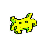 cartoon computer game sprite Royalty Free Stock Images