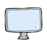 cartoon computer screen Royalty Free Stock Images