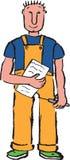 Cartoon construction worker Stock Photos
