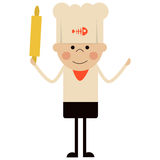 Cartoon cook illustration Stock Photos