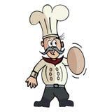 Cartoon Cook in Vector Format Stock Image