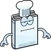 Cartoon Cookbook Bored Stock Photo