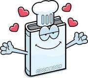 Cartoon Cookbook Hug Stock Image