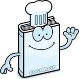 Cartoon Cookbook Waving Stock Photos
