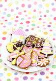 Cartoon cookies Royalty Free Stock Images