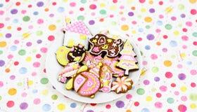 Cartoon cookies Stock Photography
