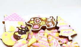 Cartoon cookies Royalty Free Stock Image