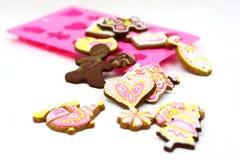 Cartoon cookies Royalty Free Stock Photo