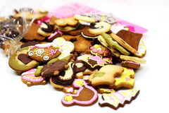 Cartoon cookies Royalty Free Stock Photo