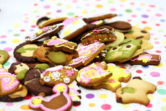 Cartoon cookies Stock Images