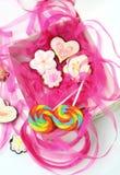 Cartoon cookies Stock Photos