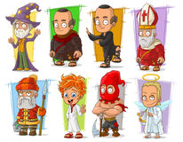 Free Cartoon Cool Funny Different Characters Vector Set Royalty Free Stock Photos - 94518998