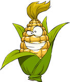 Cartoon corn Stock Photo