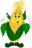 Cartoon corn Royalty Free Stock Photos