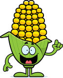Cartoon Corn Idea Royalty Free Stock Image