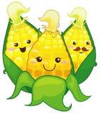 cartoon corns Stock Image