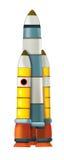Cartoon cosmonaut - illustation for the children Stock Image