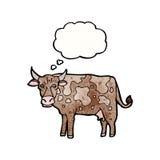 Cartoon cow Stock Photos