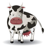 Cartoon Cow Royalty Free Stock Image