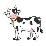 Cartoon Cow Royalty Free Stock Photos