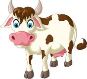 Cartoon cow for you design Royalty Free Stock Image